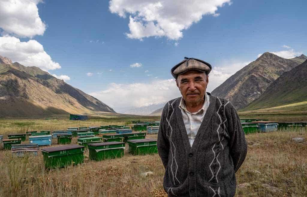 Beekeeper Kyrgyzstan