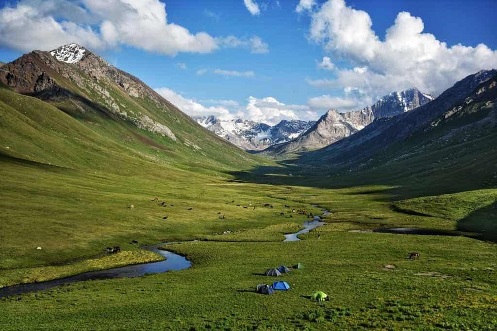 Terim Tor Valley Campsite Bulak Ashuu Lakes Trek