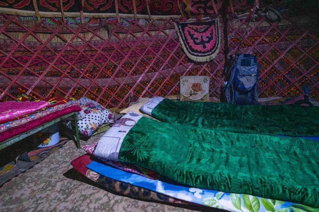 Bedding In Yurt