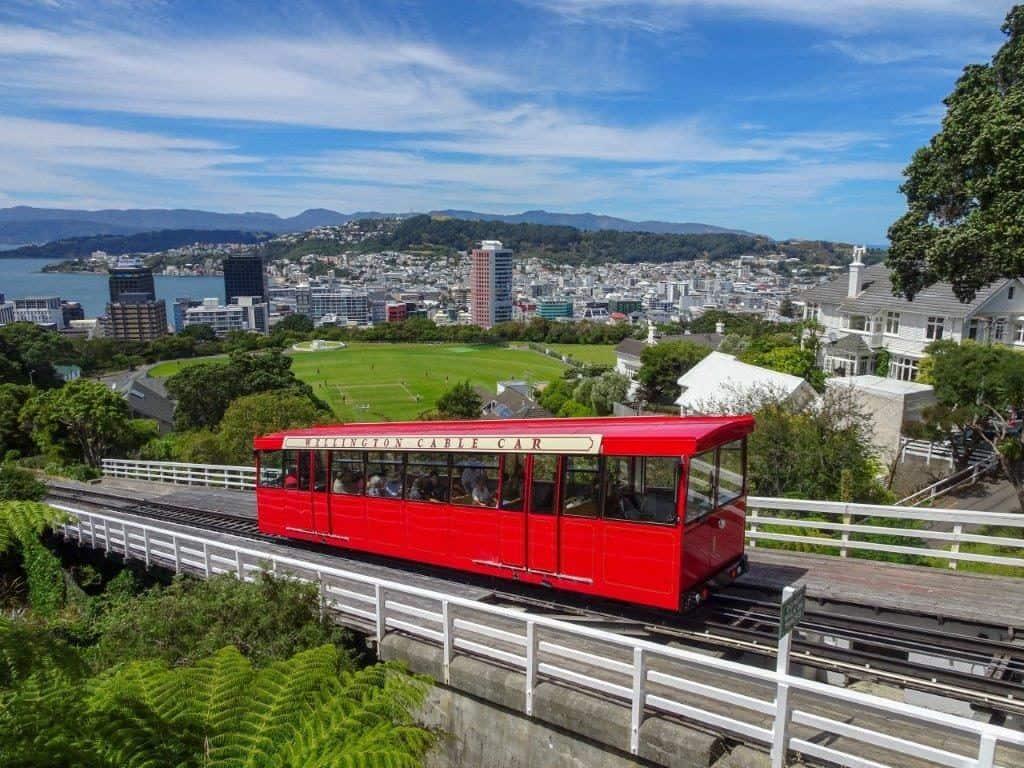 Wellington Cable Car Ascending