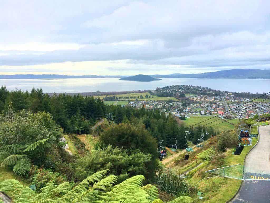 Luging Things To Do In Rotorua