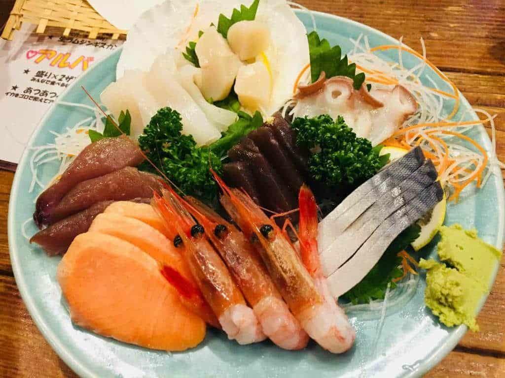 Sashimi-Hokkaido