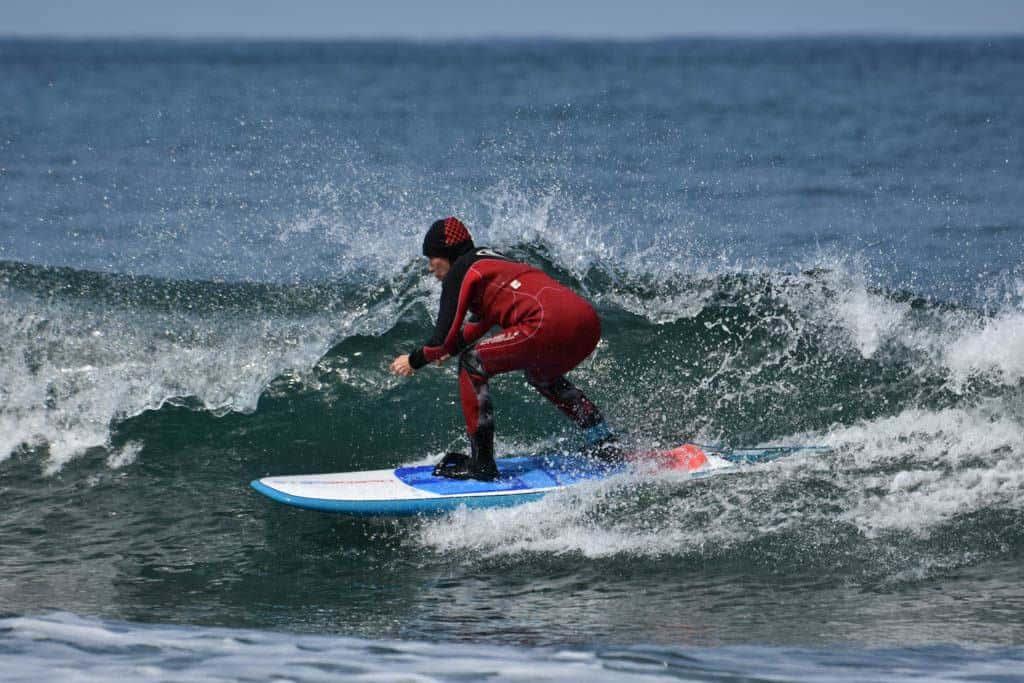 Surfing Fukuoka