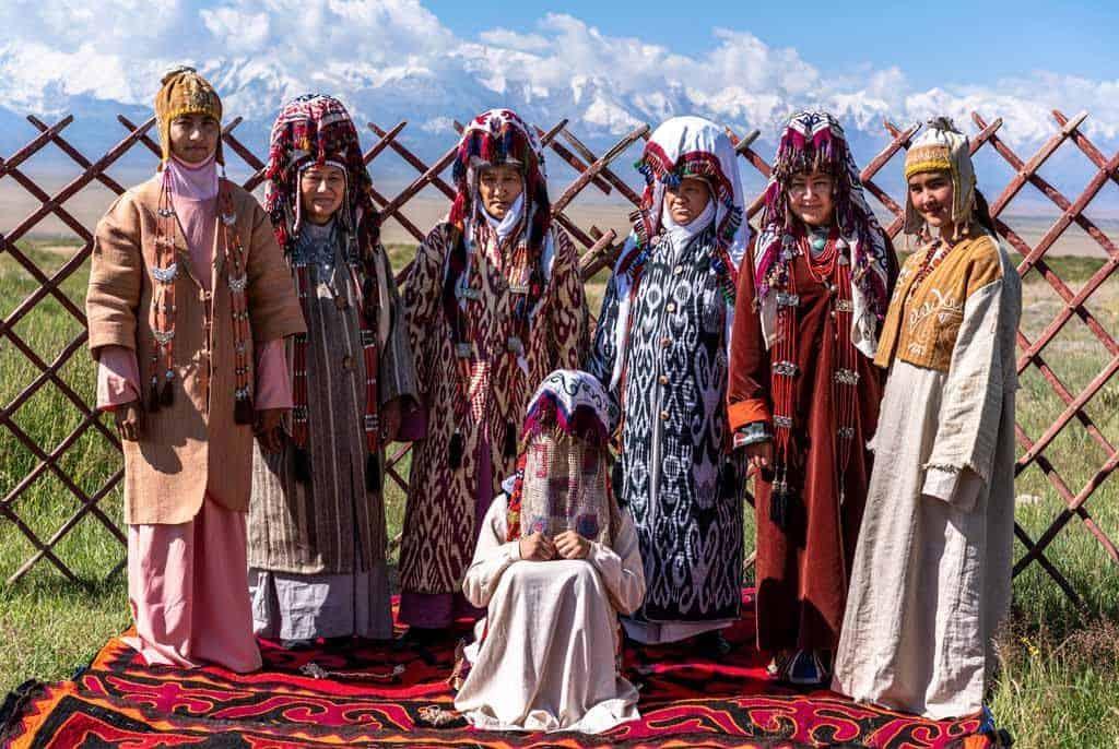 Traditional Kyrgyz Wedding Demonstration Sary Mogol