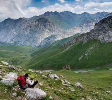 Truly Nomadic Land Trek Kyrgyzstan