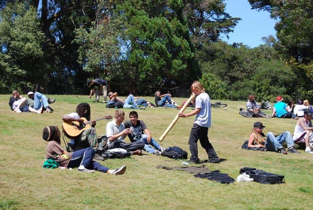Hippie Hill San Francisco