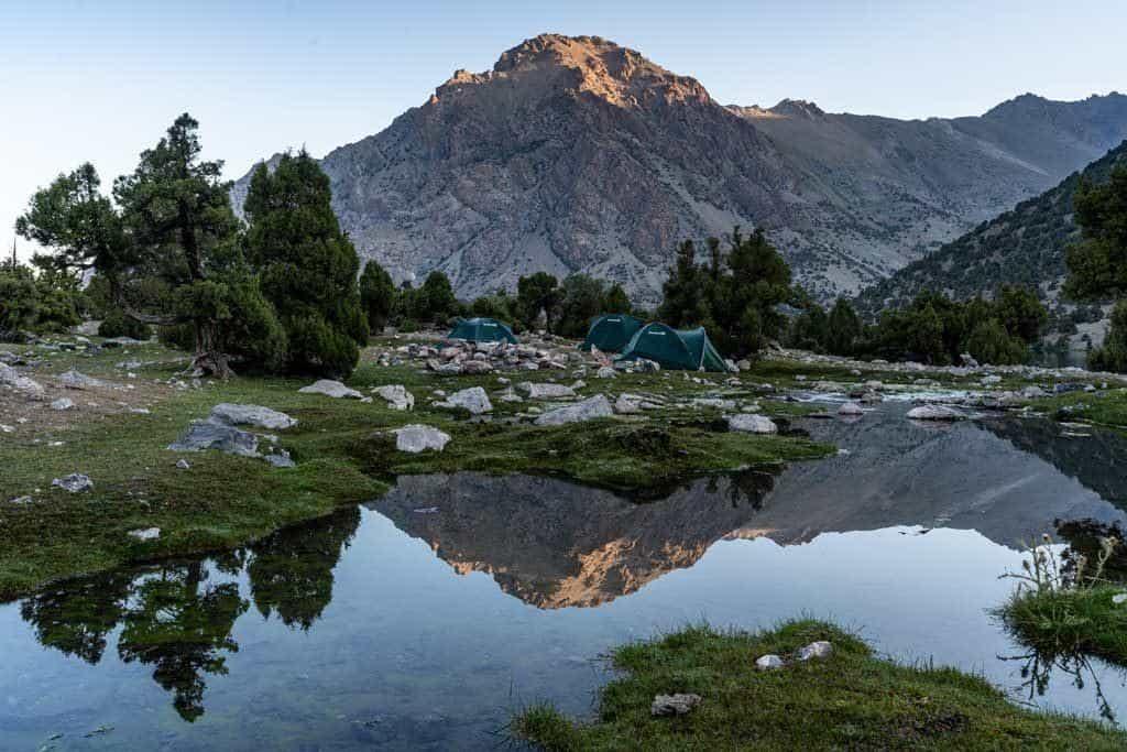 Day 1 Campsite
