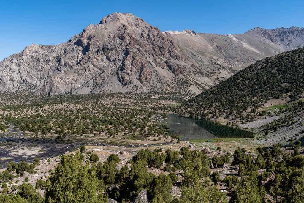 Mountain Views Fann Mountains Hike