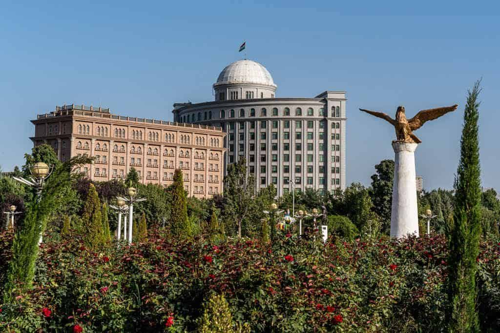 Dushanbe View From Park