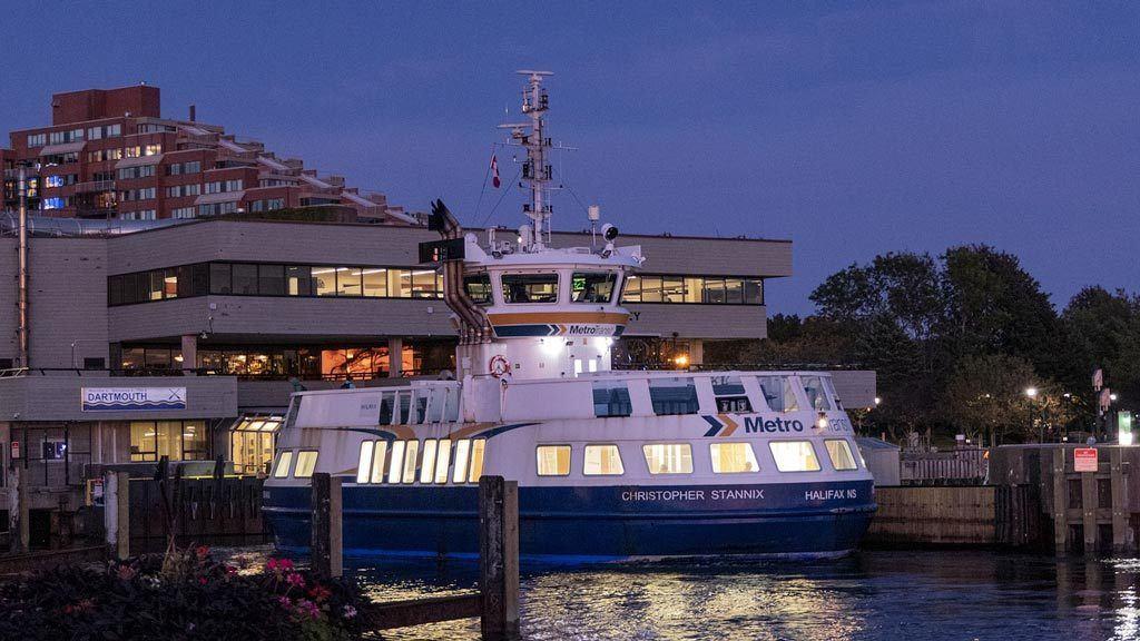 Ferry In Halifax Canada