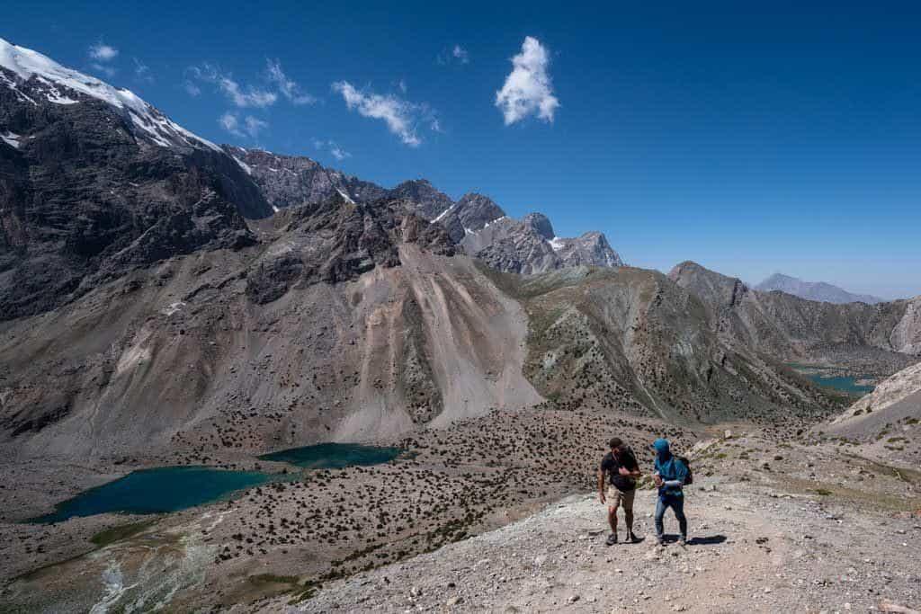 Hiking Fann Mountains
