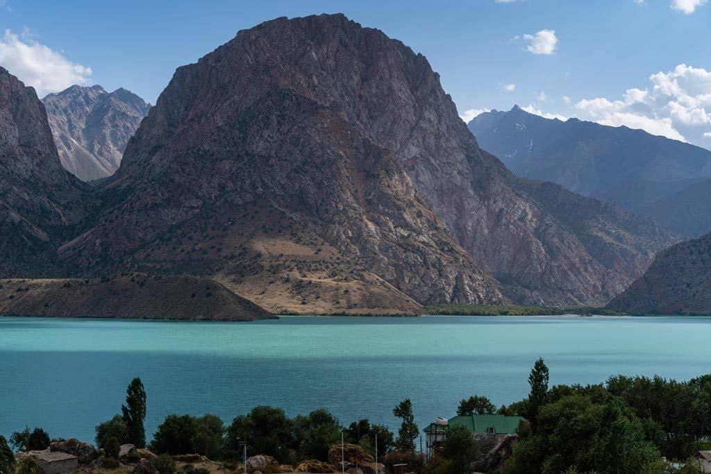 Mountain Iskanderkul Lake