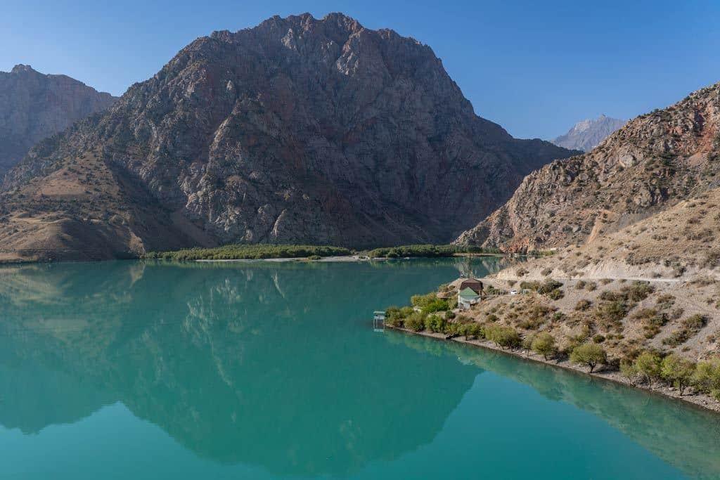 Iskanderkul Lake Reflection