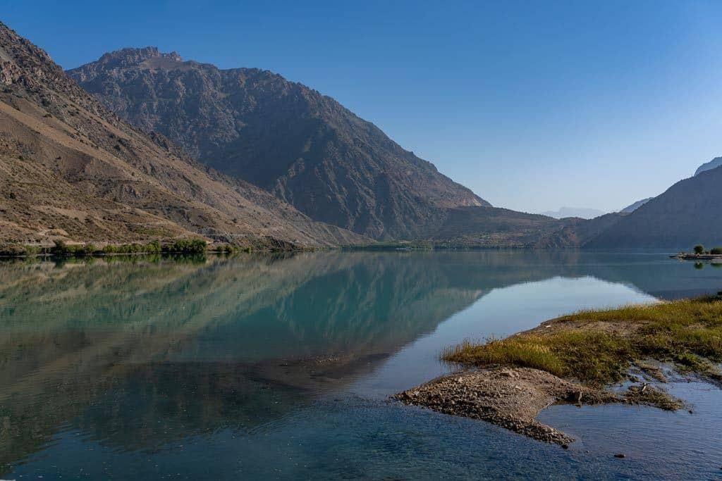 Mountain Reflections Iskanderkul Lake