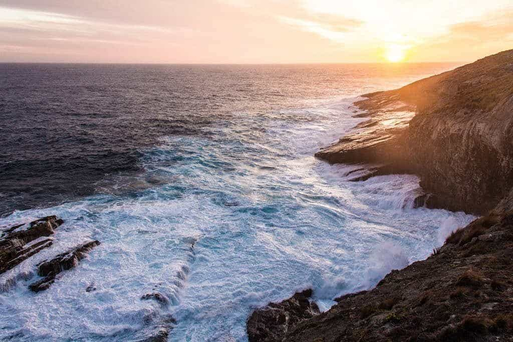 Sunset At Kangaroo Island