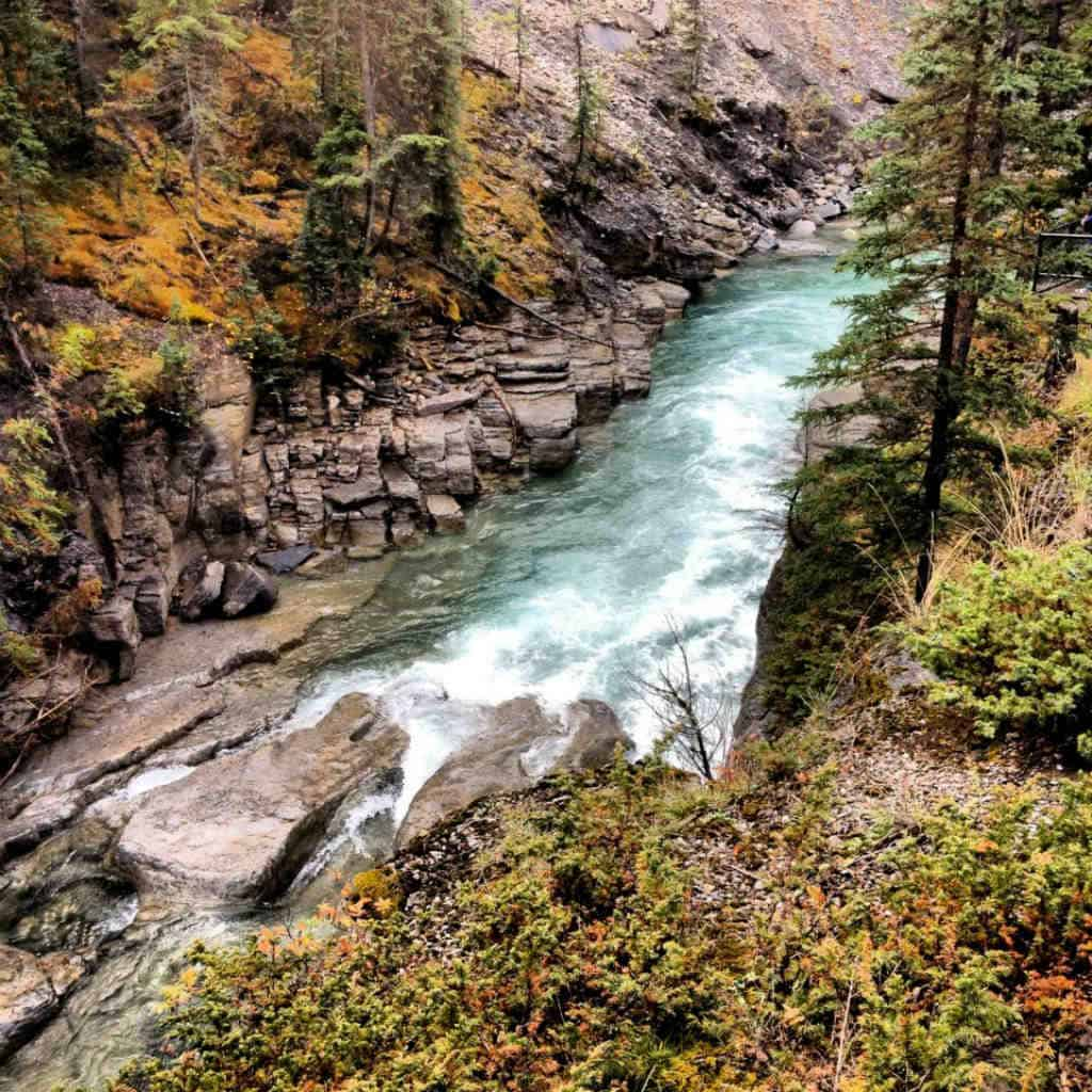 Maligne Canyon In Jasper