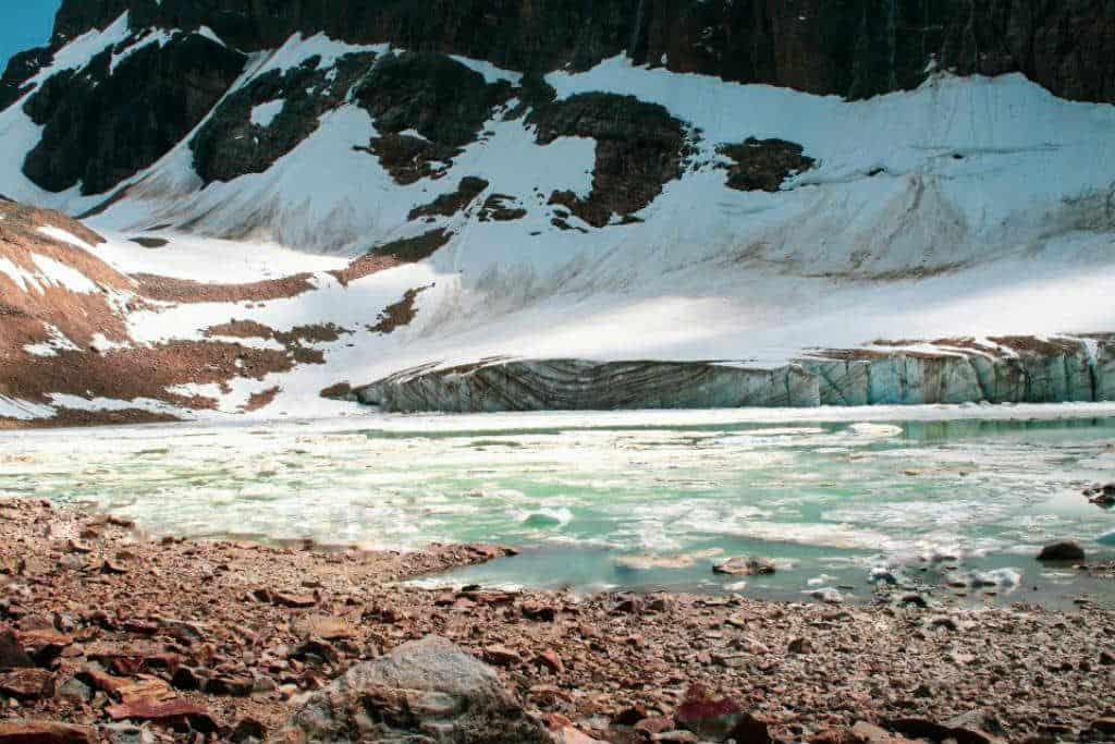 Glacial Views At Mount Edith Cavell