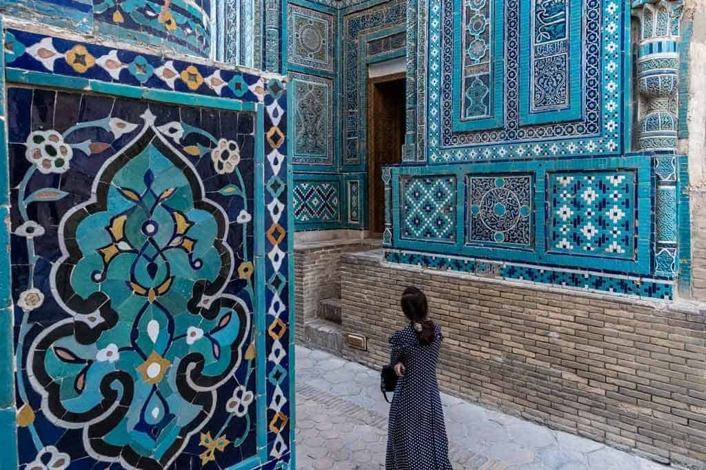 Lady Walking Things To Do In Samarkand