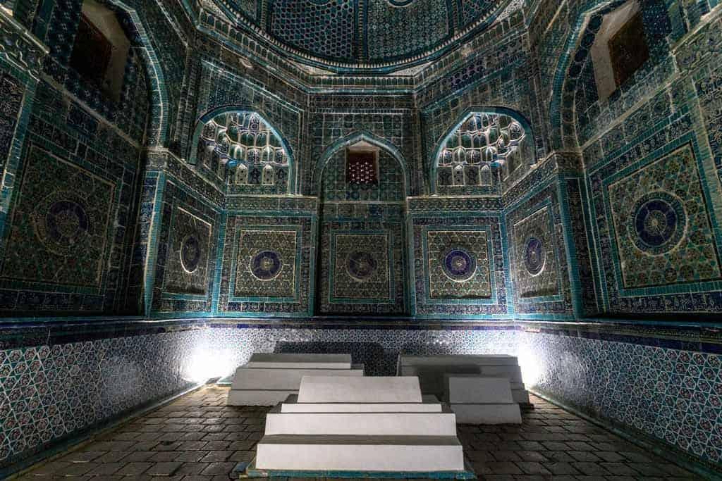 Shah-I-Zinda Interior