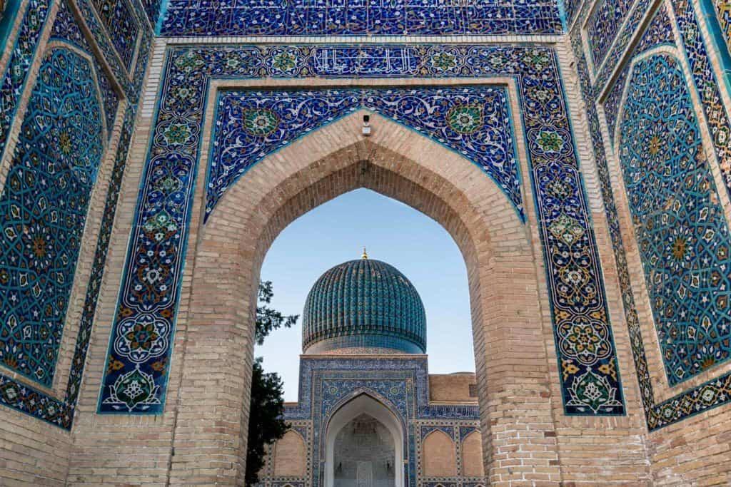 Travelling Uzbekistan Samarkand