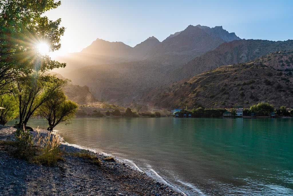 Sunrise Iskanderkul Lake