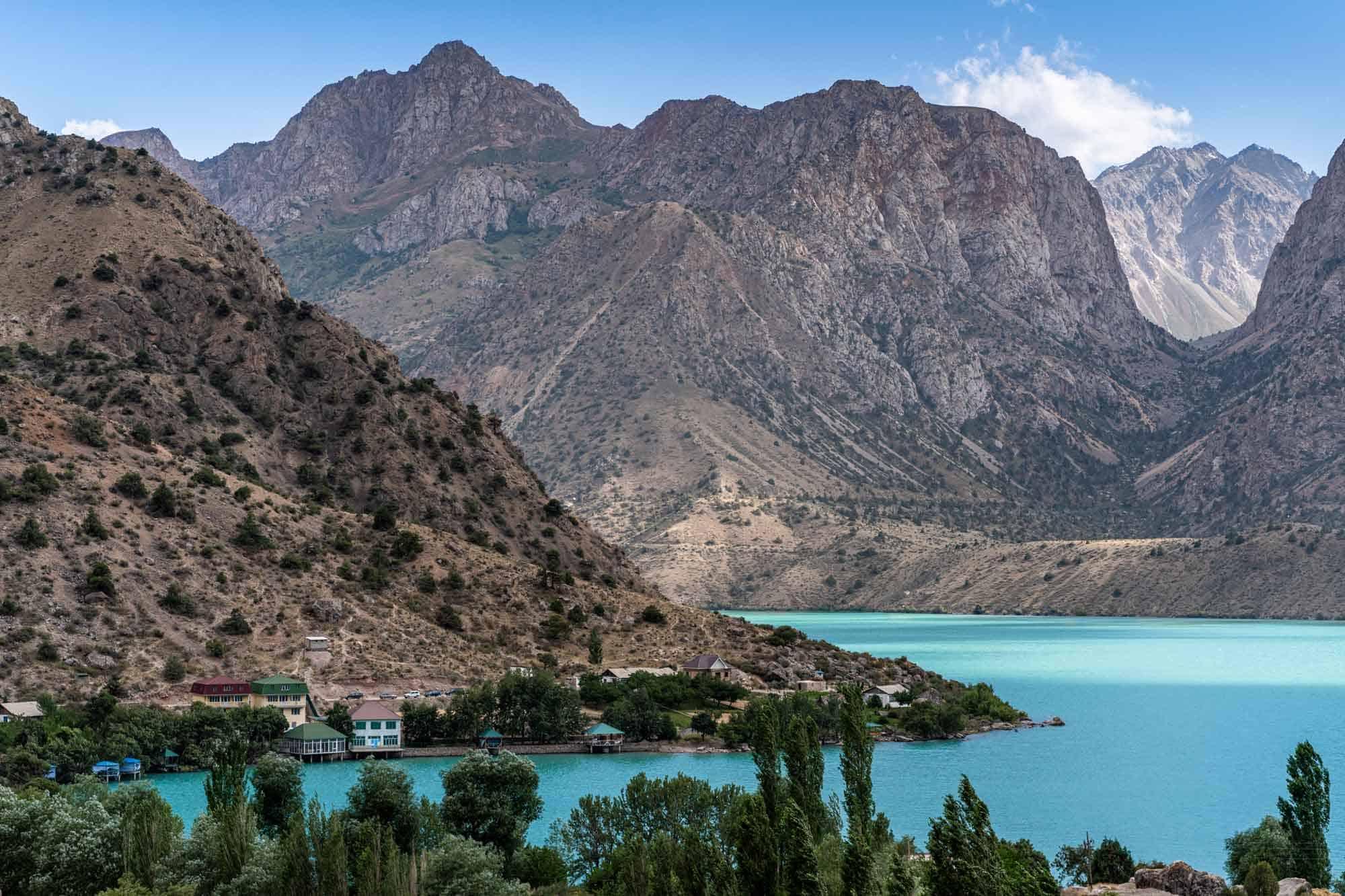 Iskanderkul Lake Tajikistan