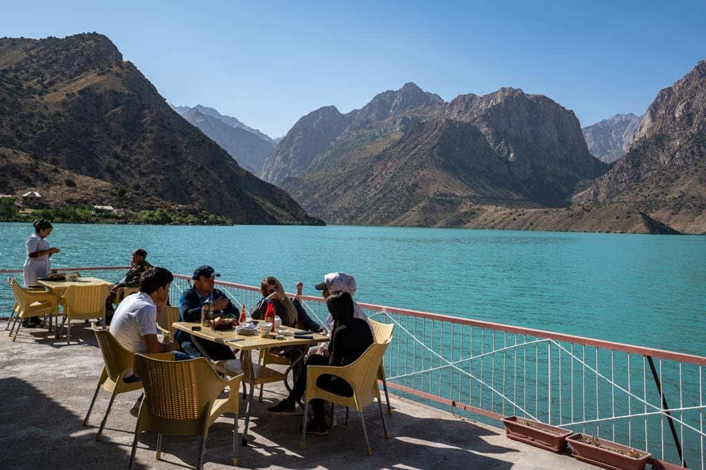 Restaurant Iskanderkul Lake
