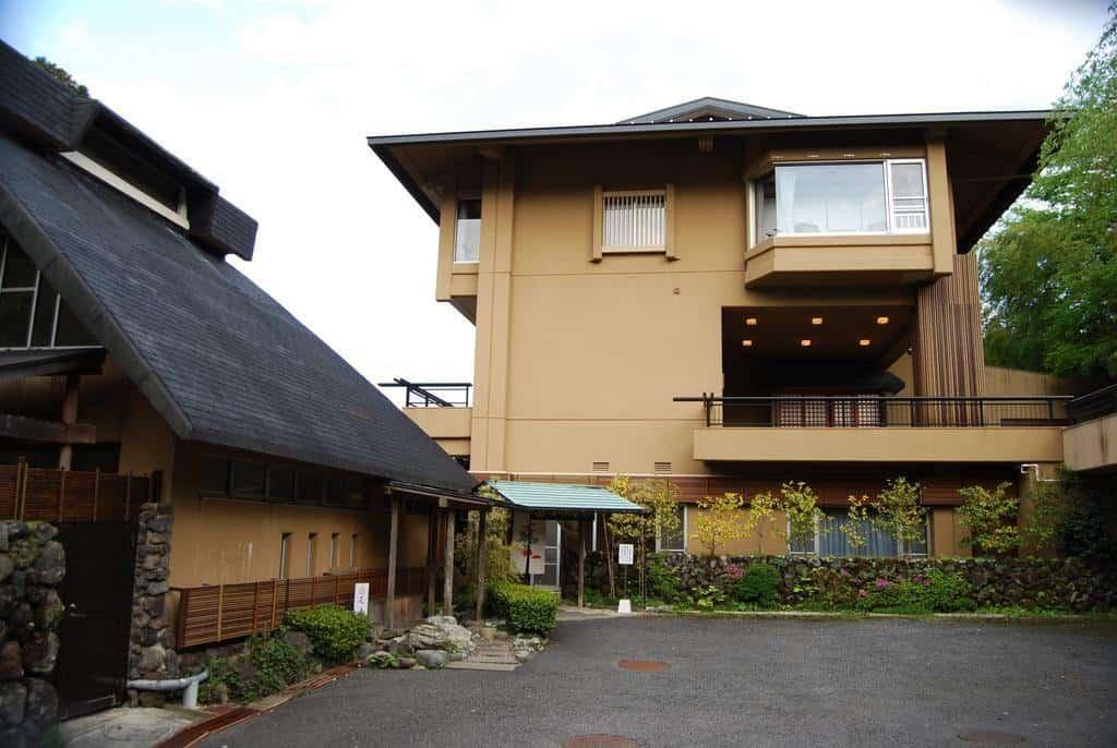A ryokan in Hakone