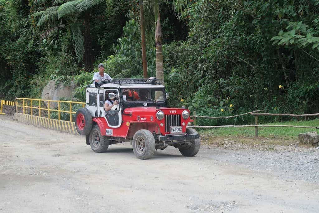 Transport in the colombia Coffee Region