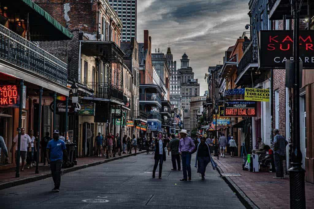Bourbon street new orleans itinerary