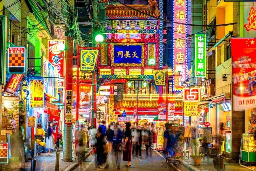 Chinatown Yokohama Night