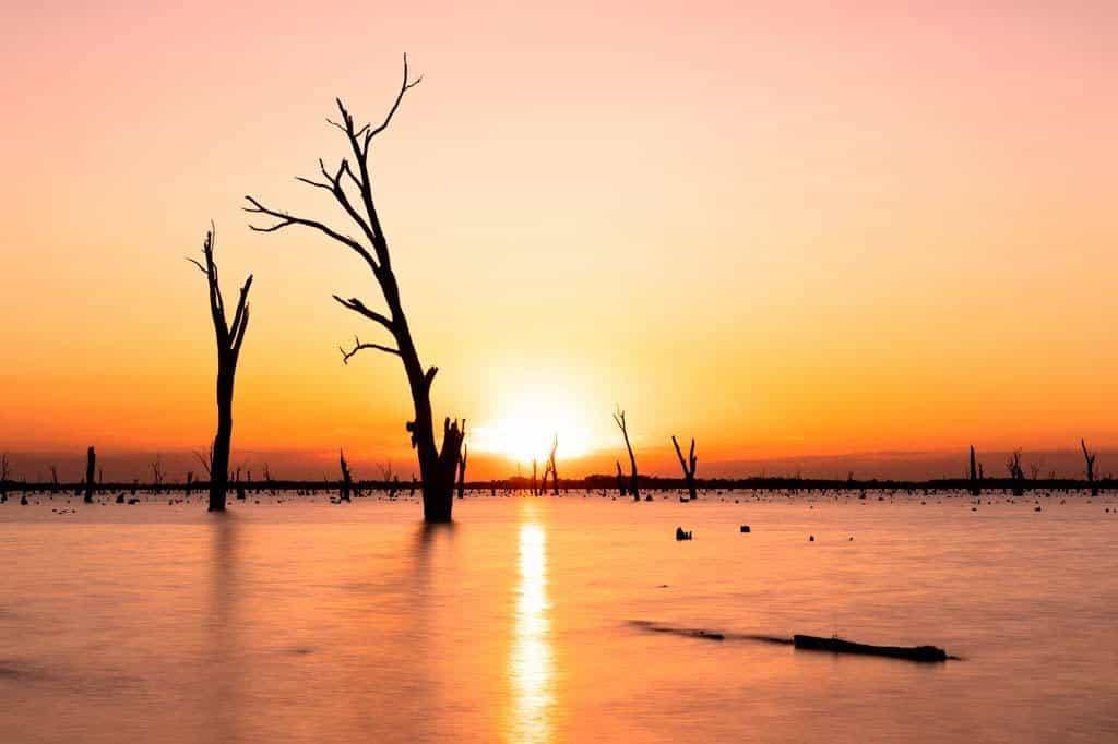 Lake Mulwala Sunset