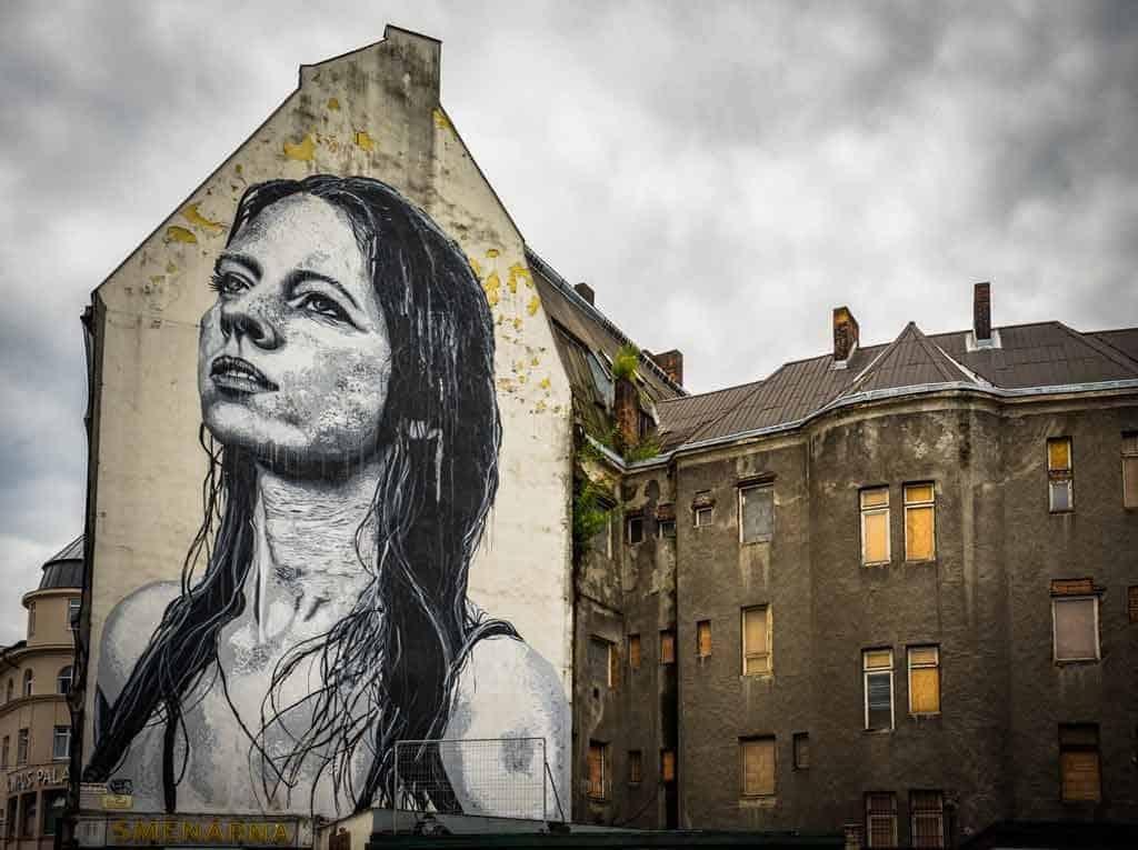 Street Art Travelling To Czech Republic