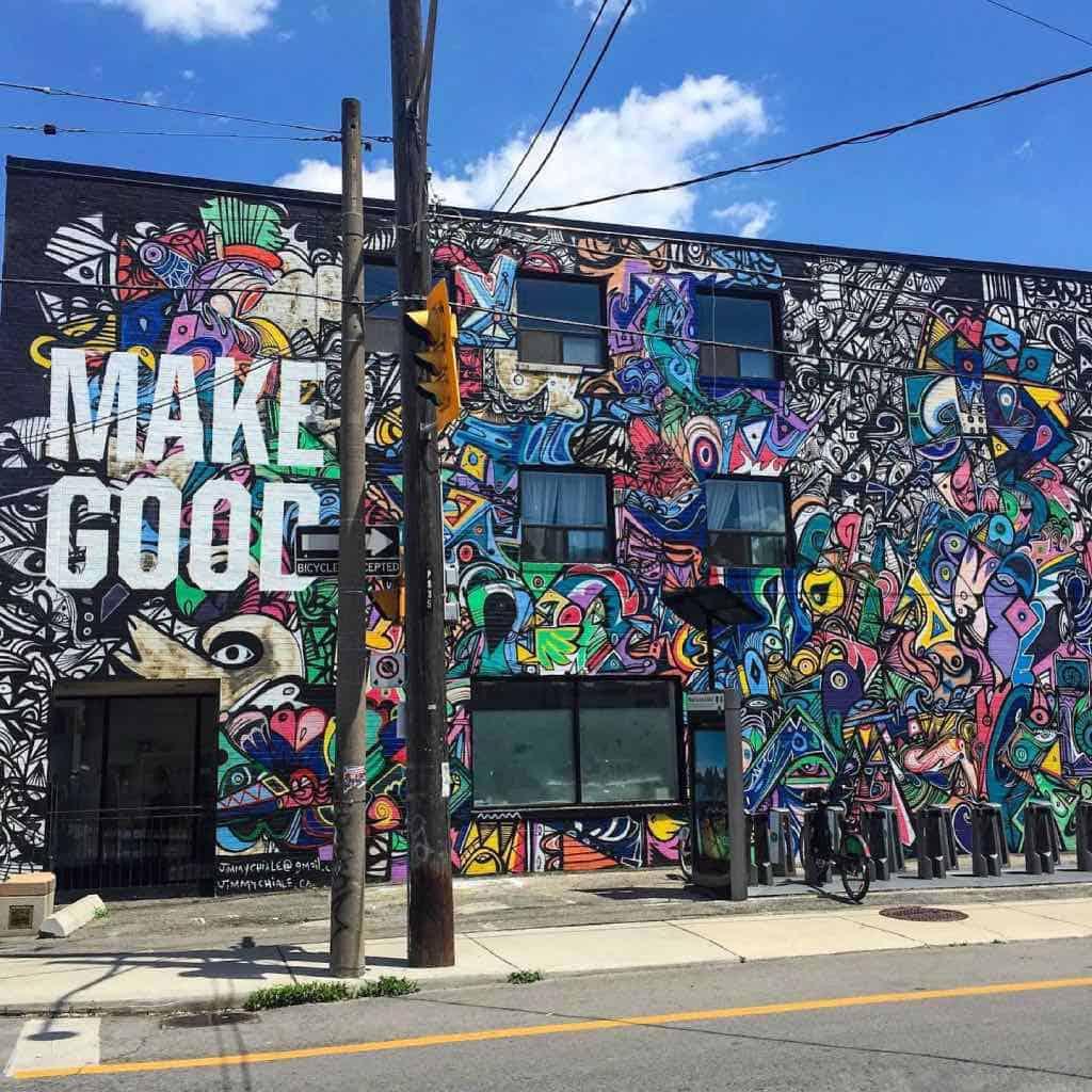 Street Art Of Toronto