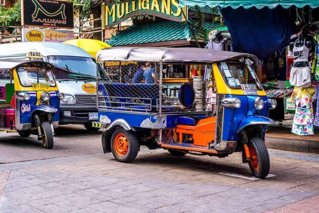 Tuk Tuk In Thailand