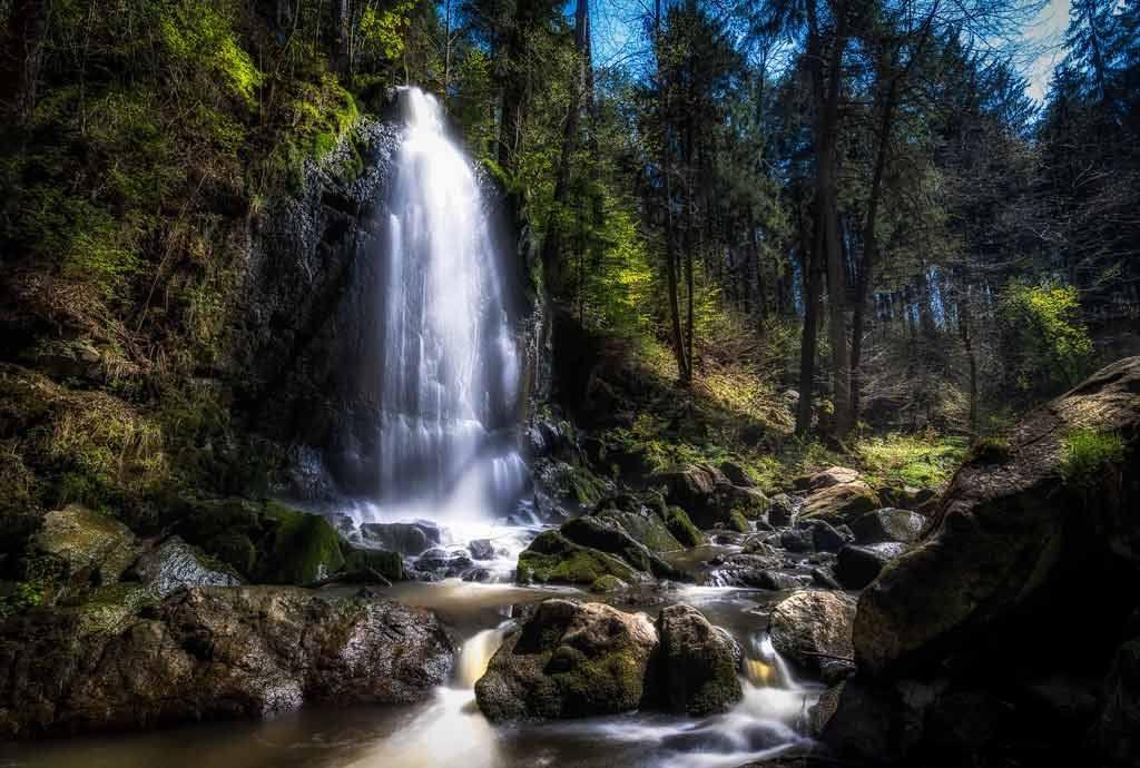 Waterfall Czechia
