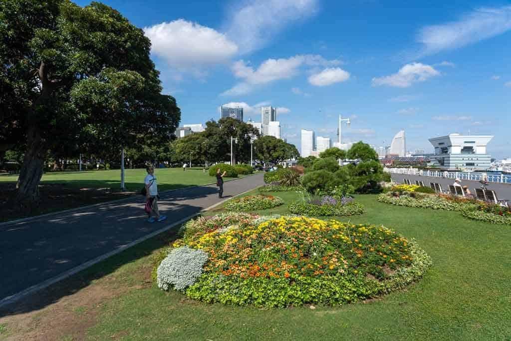 Yamashita Park Yokohama Itinerary