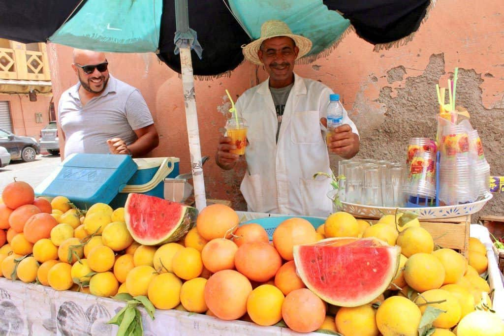 Fresh Juice In Marrakesh