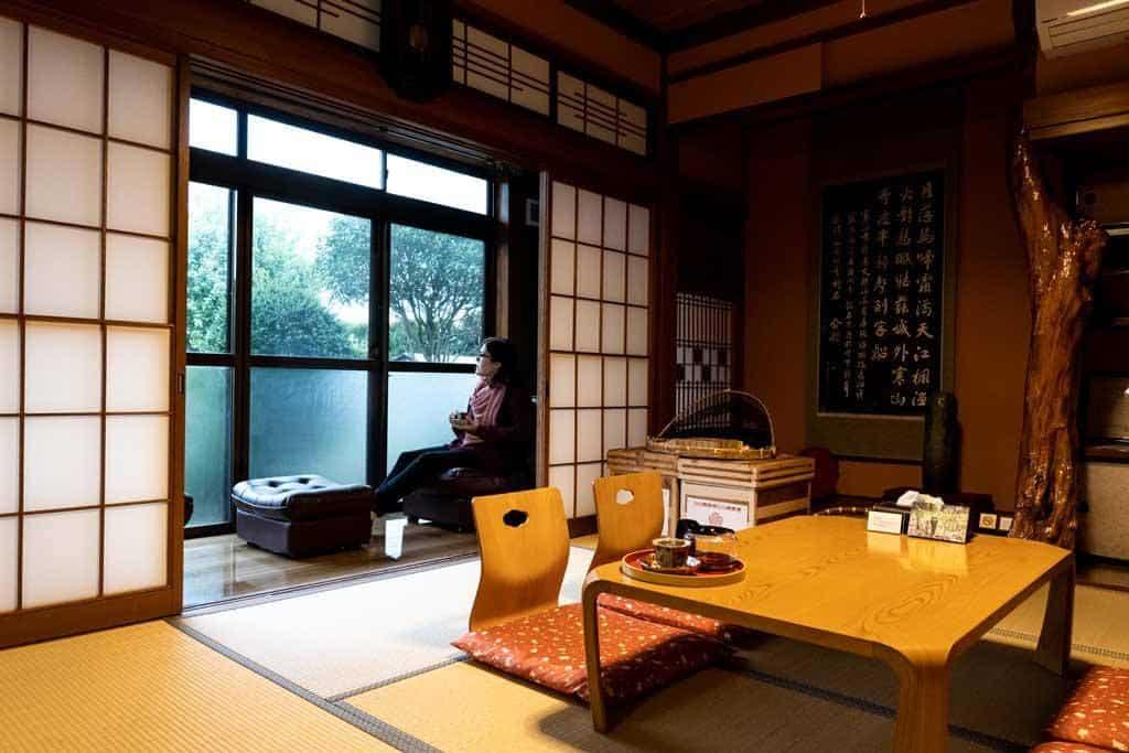 Ryokan Interior