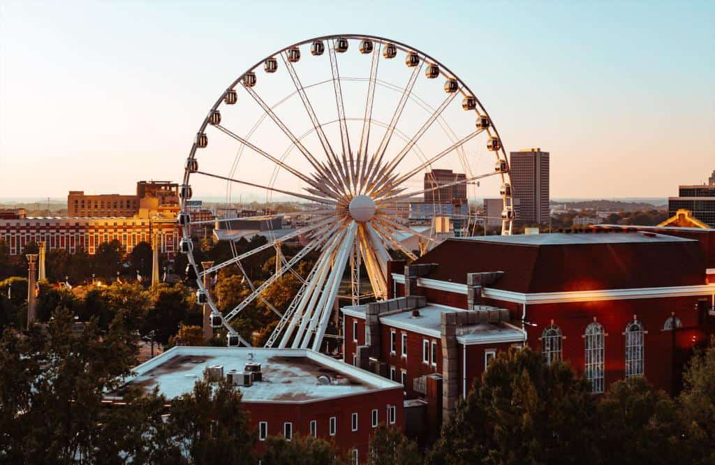 Skyview, the fastest way to see all of Atlanta