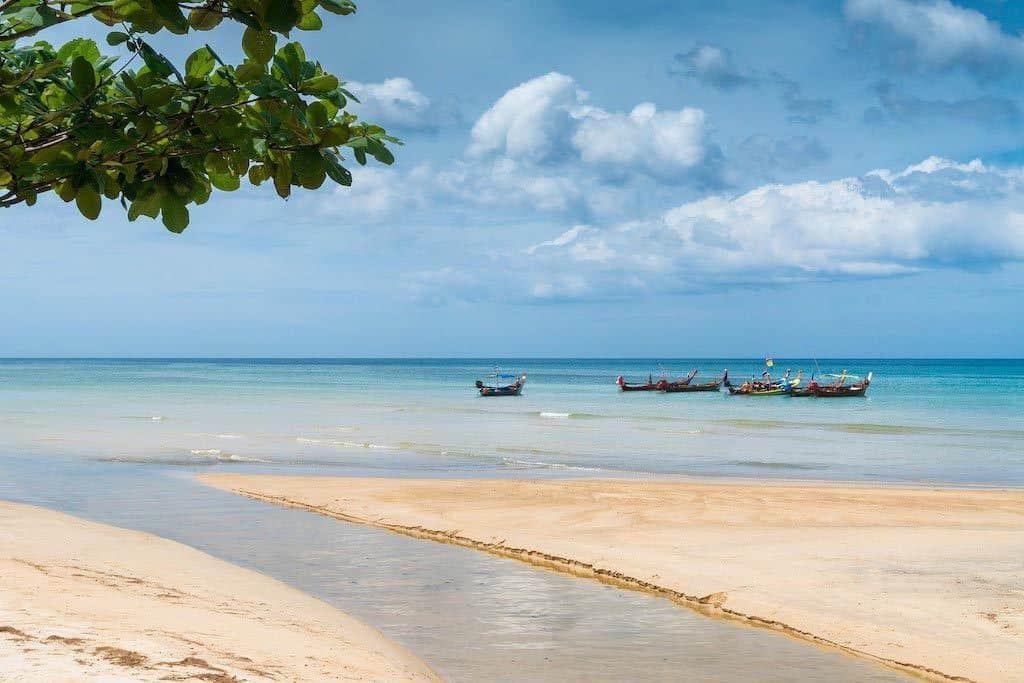 Nai Yang Beach In The North Of Phuket