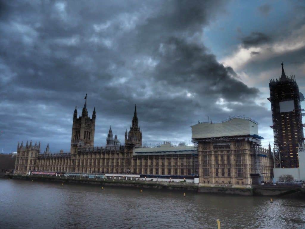 Houses Of Parliament And Big Ben From Westminster Bridge