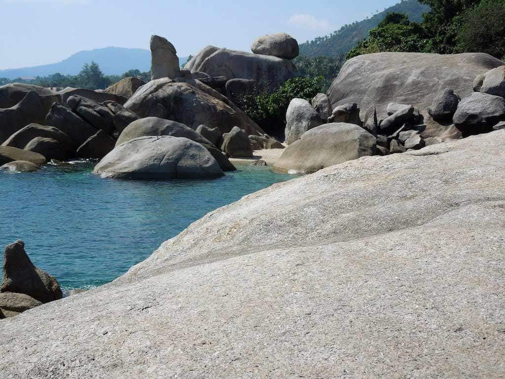 Hin Ta And Hin Ya Rocks Thailand