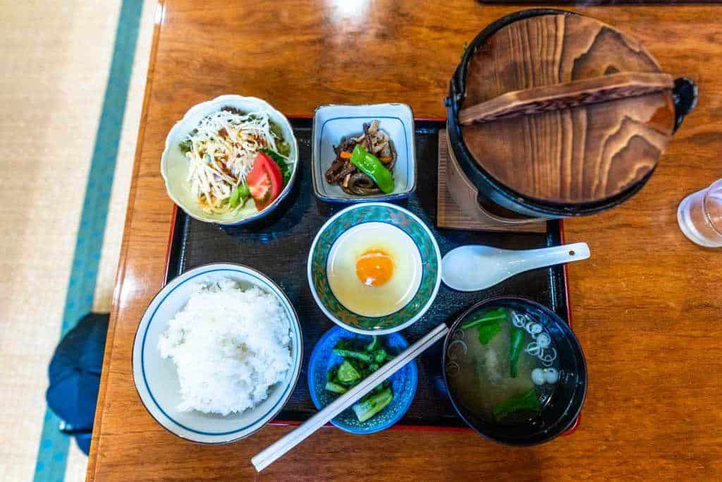 Local Yamakoshi Food