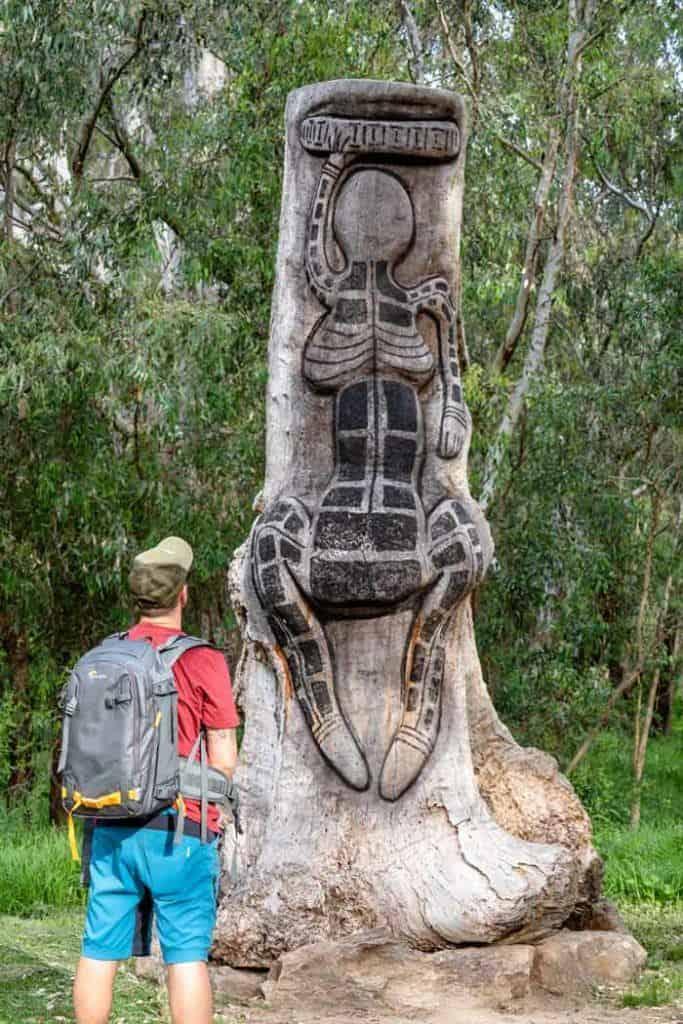 Yindyamarra Sculpture Walk