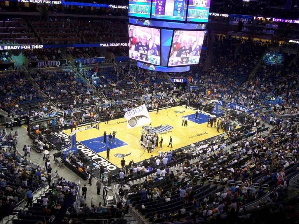 Orlando Magic Basketball Game