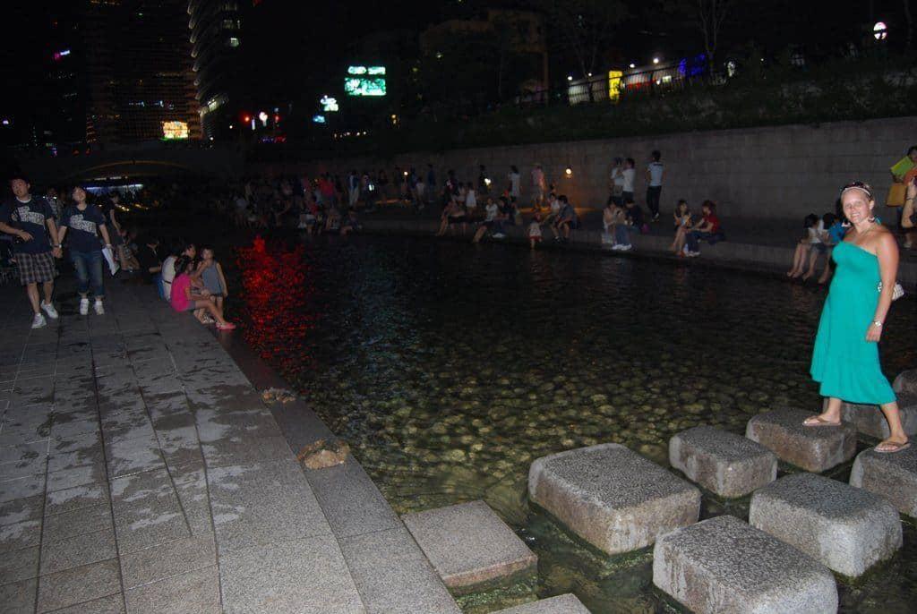 Cheonggye Stream In Seoul