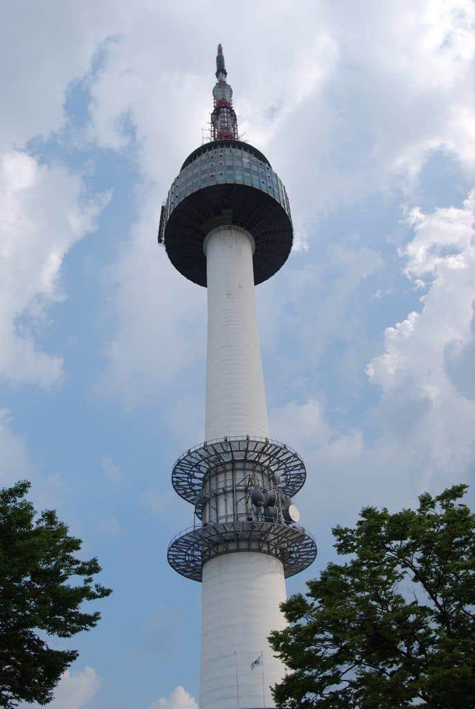 N Seoul Tower In Seoul