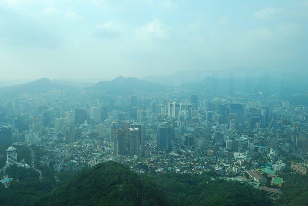 Panoramic View Of Seoul