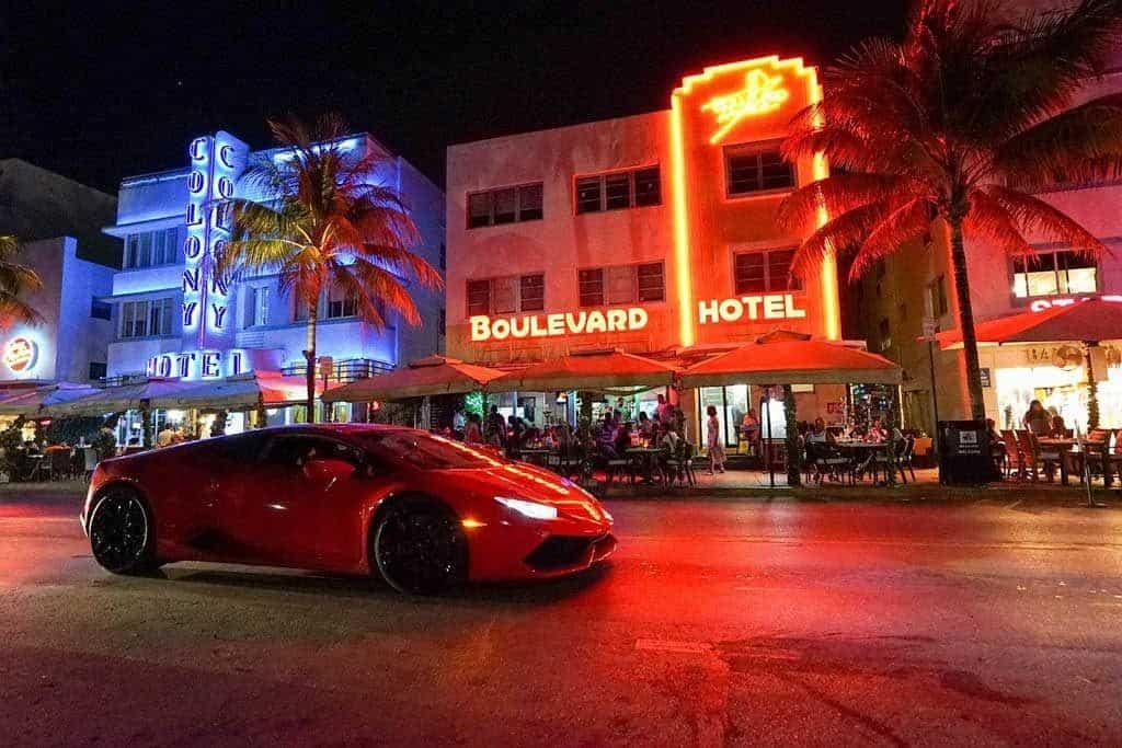 South Beach At Night